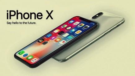 Apple iPhone X advertising