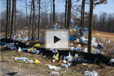 Upcycling Plastic Bags Into Battery Parts (Video) (IMAGE)